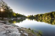 Le lac des Truites, ceinturé par le sentier... (Photo Mathieu Waddell, La Presse) - image 2.0