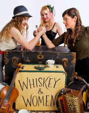 Le trio californien de Whiskey and Women mixera... (fournie par la Fête des chants de marins) - image 2.0