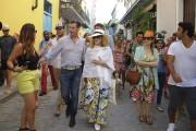 Madonna s'est permis une petite promenade dans les... (AFP, Yamil Lage) - image 2.0