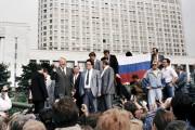 La photo de Boris Eltsine, debout sur un... (AFP, Diane Lu-Hovasse) - image 2.0