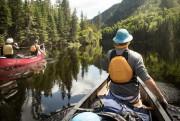 Dans le groupe:un vrai bon canoteur, ancien guide,... (Photo Simon Couturier, collaboration spéciale) - image 3.0