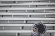 Stade vide à un match de tennis... (AP, John Minchillo) - image 3.0