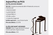 Aujourd'hui au Festival international de la chanson de... (Infographie La Voix de l'Est) - image 1.0