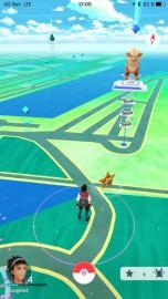 Saisies d'écran de Pokémon GO dans le Vieux-Port... - image 1.1