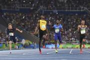 Le seul véritable adversaire de Usain Bolt au... (AFP, Olivier Morin) - image 2.0