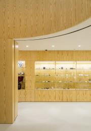 L'espace de la librairie-boutique est entièrement revêtu de... (MNBAQ, Idra Labrie) - image 4.0