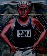 Atleta, 1930, de Rufino Tamayo, huile sur toile,... (Photo fournie par le MBAC) - image 1.0