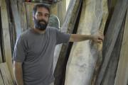 L'artisan-ébéniste Jean-François Lettre dans son atelier des Éboulements... (Martin Vallières) - image 4.0