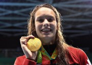 La nageuse canadienne Penny Oleksiak... (Photo Sean Kilpatrick, La Presse Canadienne) - image 1.0