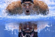 Le nageur américain Michael Phelps... (Photo CHRISTOPHE SIMON, Agence France-Presse) - image 1.1