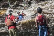 Le Championnat canadien de canoë-kayak d'eau vive s'est... (Photo Le Progrès-Dimanche, Michel Tremblay) - image 2.0