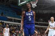 Kevin Durant a été le meilleur pour les... (PHOTO MARK RALSTON, AFP) - image 1.0