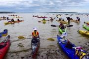 Fatigués mais heureux, les kayakistes ont été accueillis... (Fournie par Gérald Massicotte) - image 2.0
