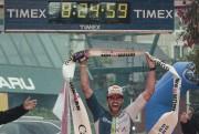 Le gagnant de l'épreuve chez les hommes, l'Américain... (Photo Hugo-Sébastien Aubert, La Presse) - image 3.0