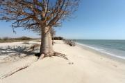 La plage du petit village de Doun Baba... (Photo Agence France–Presse) - image 1.1