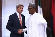 Le secrétaire d'État américain John Kerry a rencontré,... (AFP, Philip Ojisua) - image 2.0