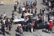 Quelque 800étudiants se sont régalés lors du «dîner... (Alain Dion, La Voix de l'Est) - image 3.0