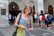 Hannah Herty, de Nuremberg, en Allemagne... (Photo Robert Skinner, La Presse) - image 2.0