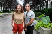 Stéphane Binke et sa fille Marion, 17 ans.... (PHOTO ROBERT SKINNER, LA PRESSE) - image 4.0