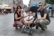 La famille Sanchez (Michaël, Caroline et leurs enfants... (PHOTO ROBERT SKINNER, LA PRESSE) - image 6.0