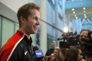 Derek Drouin, de Corunna en Ontario, a gagné... (La Presse Canadienne, Chris Young) - image 2.0