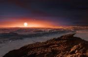 La surface de Proxima B serait rocheuse.... (illustration AFP) - image 1.0