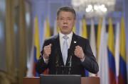 Le président colombien Juan Manuel Santos s'est félicité... (AFP) - image 3.0