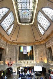 La gare du Palais, «merveille architecturale» nouvellement centenaire,... (Le Soleil, Jean-Marie Villeneuve) - image 2.0