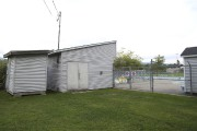 Les cinq bâtisses désuètes situées au parc Goyette-Hill... (Julie Catudal, La Voix de l'Est) - image 1.0