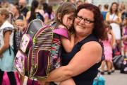 Une rentrée mère-fille, à la Commission scolaire de... (Photo: Francois Gervais) - image 1.0