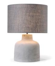 Lampe de table avec base en ciment et... (Fournie par Multi Luminaire) - image 4.1