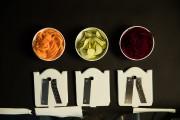 Trois lames testées: patate douce, courgette verte et... (PHOTO IVANOH DEMERS, LA PRESSE) - image 2.0
