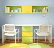 Dans cette chambre d'enfant, Peinture Laurentide a joué... (Crédit photo Peinture Laurentide) - image 4.0