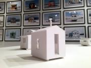 Les maquettes, toutes blanches, font abstraction de la... (MAQ) - image 3.1