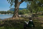 Le parc d'Otterburn Park est situé en bordure... (Photo Martin Tremblay, La Presse) - image 3.0