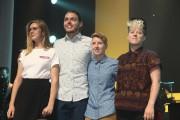 Les quatre finalistes: Lydia Képinski, Étienne Fletcher, Catherine... (Alain Dion, La Voix de l'Est) - image 2.0
