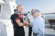Jacques Germain (à droite) tenait à remercier celui... (Photo Le Progrès-Dimanche, Michel Tremblay) - image 2.0
