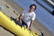 Marc Boudreault, de l'entreprise La Baie en kayak,... (Photo Le Progrès-Dimanche, Rocket Lavoie) - image 1.0