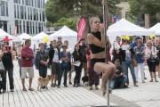 Les participants ont eu droit à une démonstration... (Photo Le Quotidien, Michel Tremblay) - image 1.0