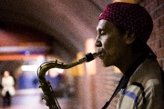 Avant de jouer dans le métro, Crisanto de... (Photo Ninon Pednault, La Presse) - image 7.0