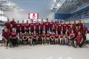 L'équipe canadienne de paranatation en vue des Jeux... (Chris Young, PC) - image 1.0