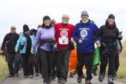 ArrivÈe marche DÈdÈ Lisette Fortin, Gilles Desmeules, Gyslain... (Archives Le Quotidien) - image 3.0