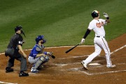 Matt Wieters a donné les devants aux Orioles... (Associated Press) - image 2.0