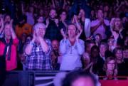 Les 9000 sièges de l'amphithéâtre Cogeco étaient occupés,... (Photo Sylvain Mayer, Le Nouvelliste) - image 2.0