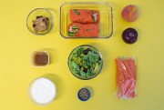 Le lunch deLisanne Roberge.... (PHOTO Olivier Pontbriand, LA PRESSE) - image 3.0