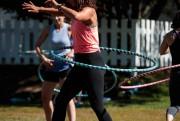 Il faut utiliser le mouvement du hula-hoop pour... (PHOTO HUGO-SÉBASTIEN AUBERT, LA PRESSE) - image 2.0