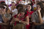Une partisane de Dilma Rousseff effondrée... (AP, Leo Correa) - image 5.0