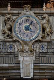 Une horloge de faïence est fixée sur la... (Le Soleil, Erick Labbé) - image 3.0