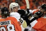Sidney Crosby et Claude Giroux ont eu leur... (Archives, Associated Press) - image 5.0