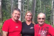 Martin Saint-Gelais, Chantal Lapointe et Denis Lapointe ont... (Photo courtoisie) - image 1.0